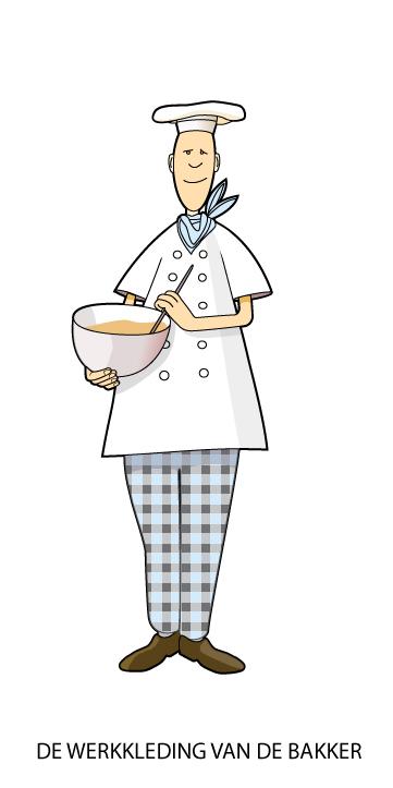 bakker in werkkleding 2