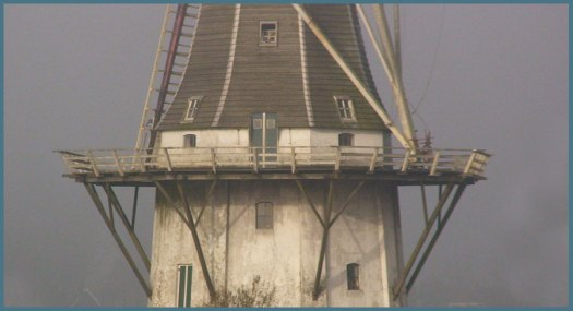 Windmolen Klein Wetsinge, detail, windmill