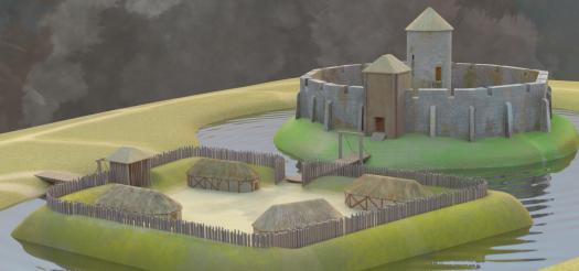 Huis Bergh Castle - phase I
