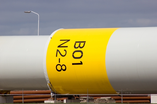 B01 N2-8, part of an offshore wind turbine
