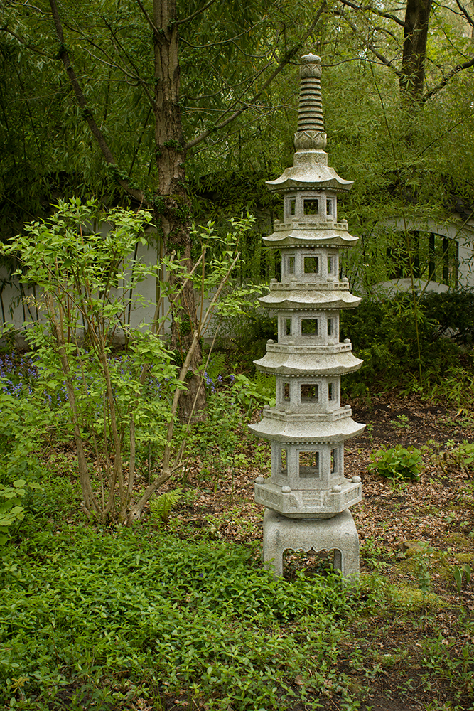 pagoda, stone chinese folly