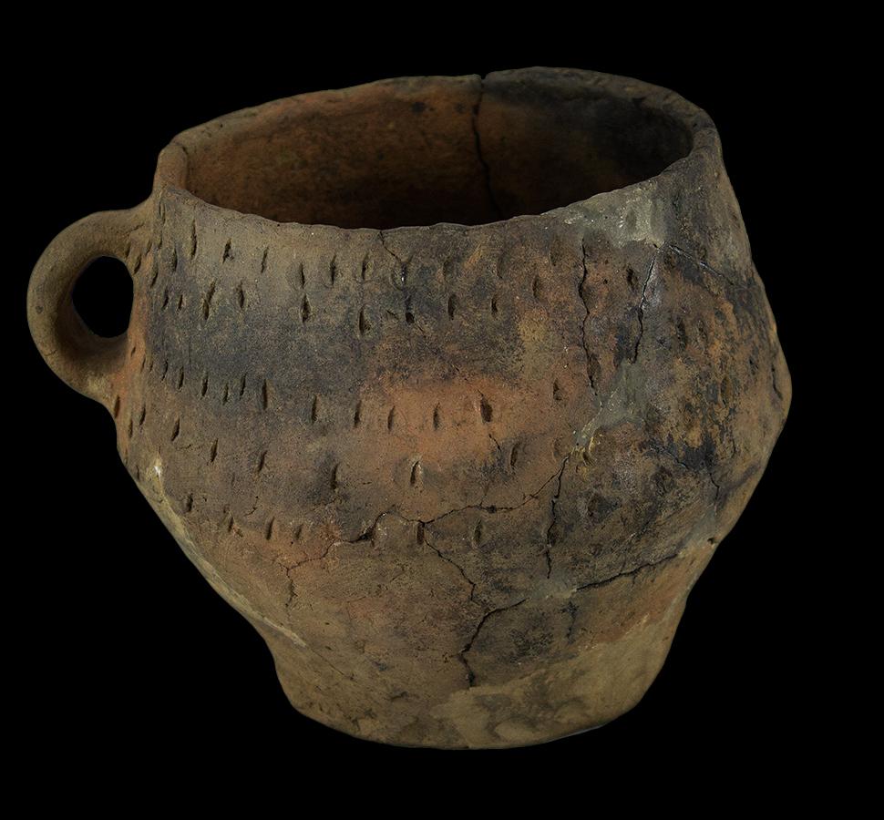 Bronze age vessel, Liemers Museum, Zevenaar (NL)