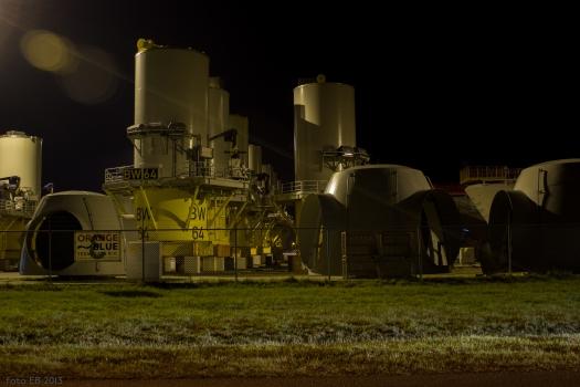 Windturbine assembly site
