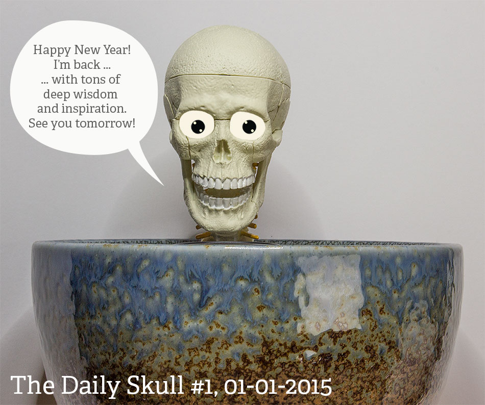 The Daily Skull #1 2015