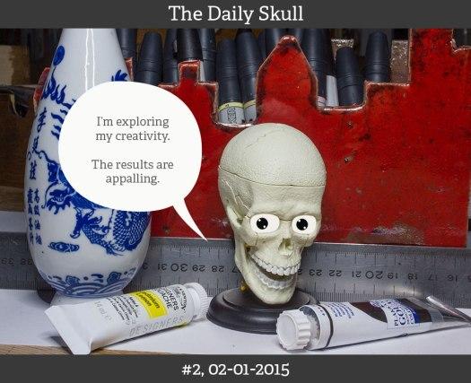 The Daily Skull, #2, 02-01-2015