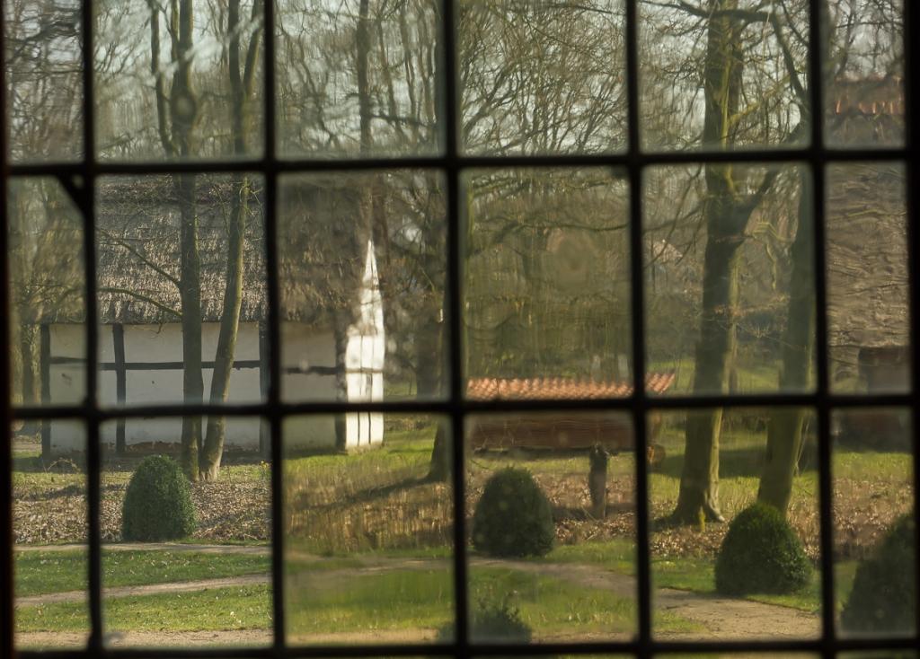 Window with garden