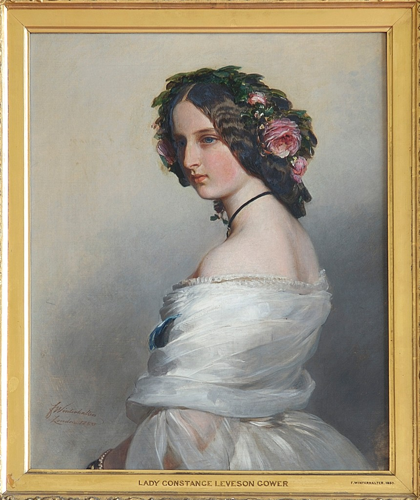 Lady Constance Leveson-Gower (1834-80), later Duchess of Westminster