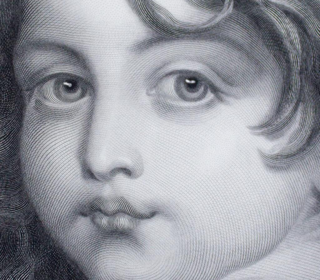 Detail of an engraving after Jean-baptiste Greuze