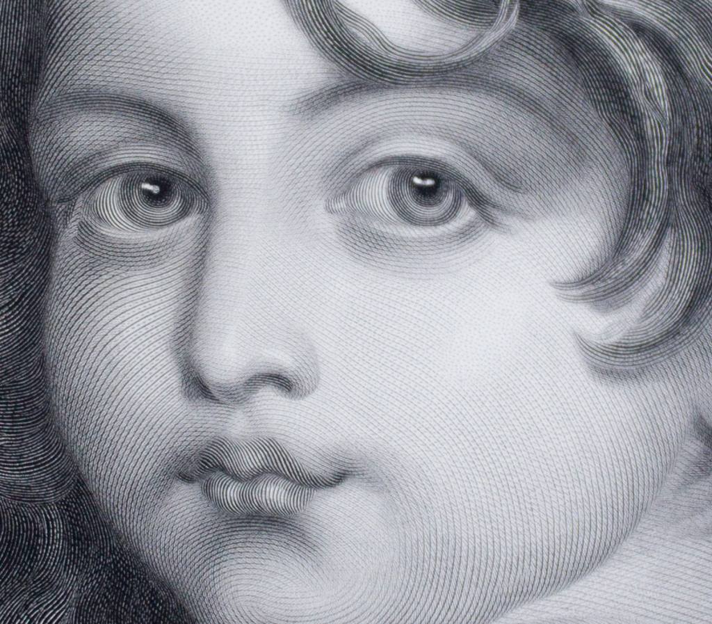 Detail of an engraving after Jean-baptiste Greuze