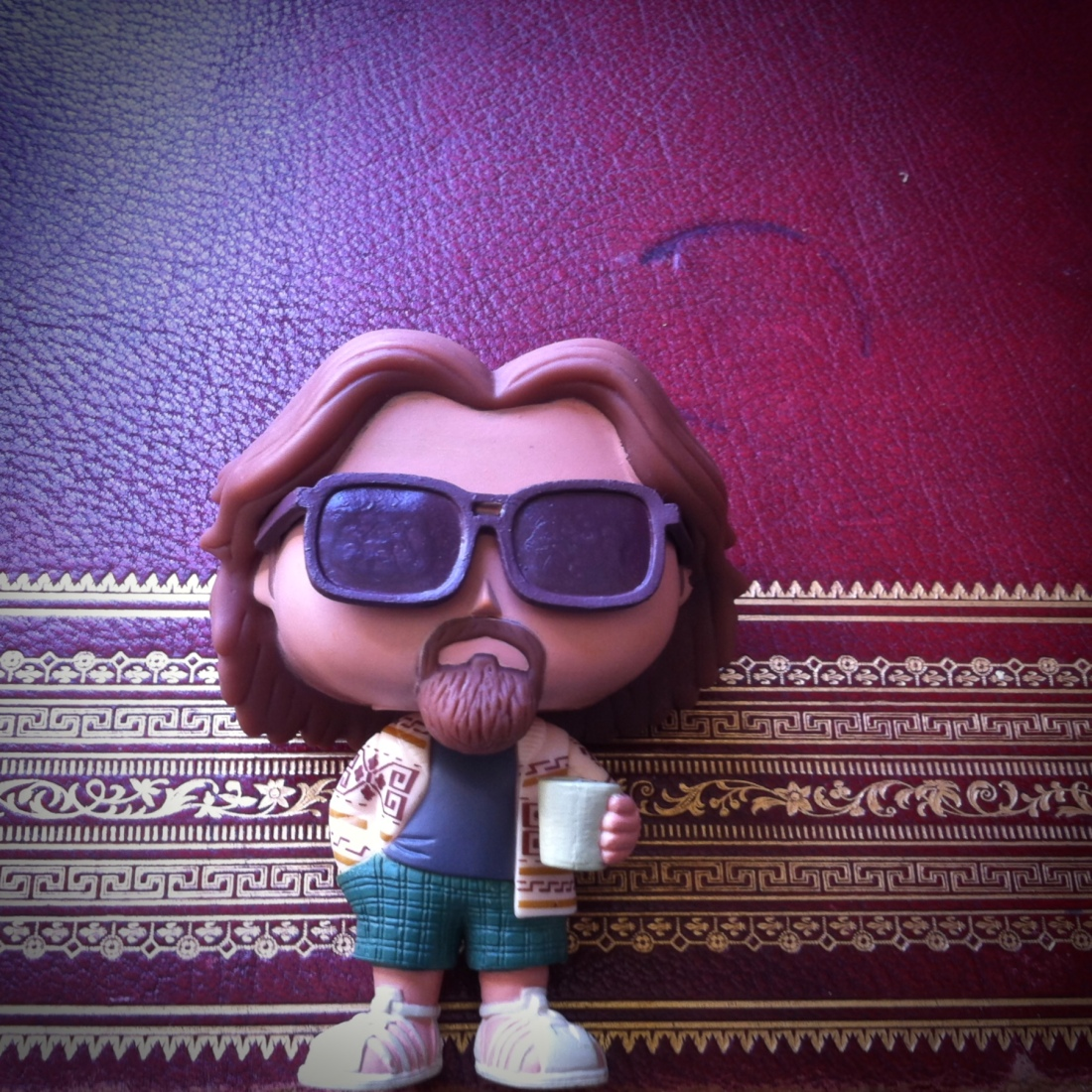 Is this a... what day is this? Figurine of The Dude, Jefrey Lebowski.