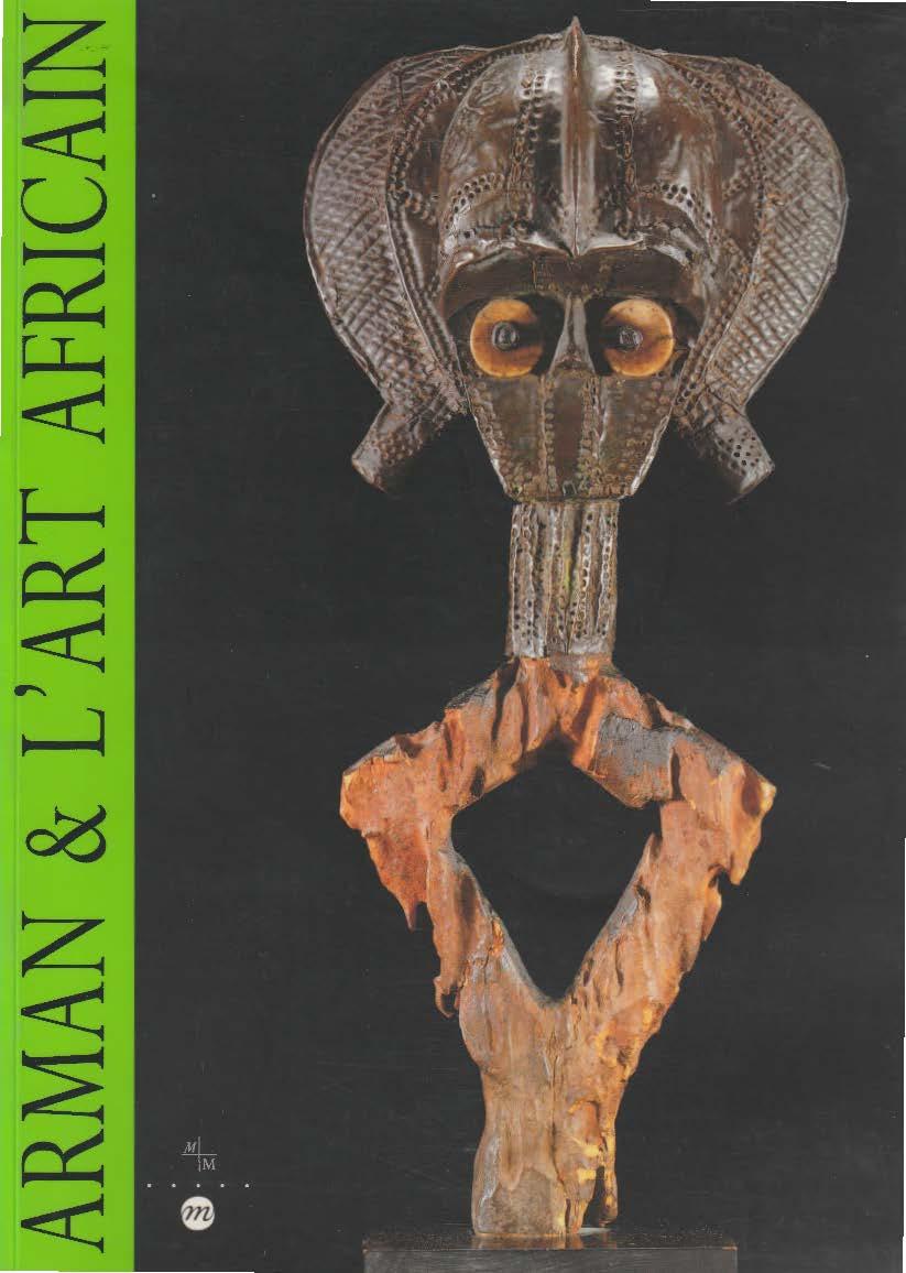 Boekcover Arman & L'Art Africain